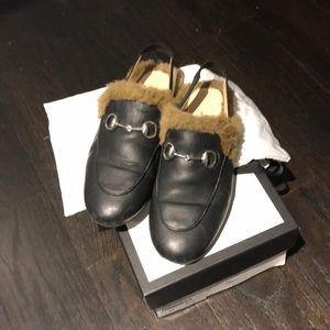 Black boy gucci mules